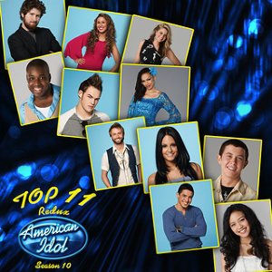 American Idol Top 11 Redux Season 10 歌手頭像