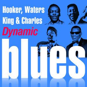 John Lee Hooker , Muddy Waters ,B.B King ,Ray Charles 歌手頭像