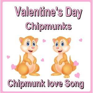 Valentine's Day Chipmunks Foto artis