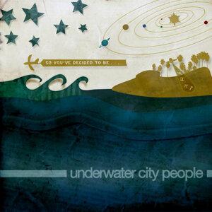 Underwater City People Foto artis