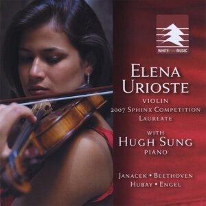 Elena Urioste, violin with Hugh Sung, piano Foto artis
