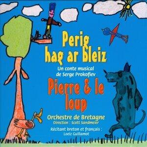 Loeiz Guillamot, Orchestre de Bretagne, Scott Sandmeier Foto artis