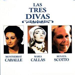 Montserrat Caballe, Maria Calas, Renata Scotto Foto artis