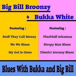 Big Bill Broonzy, Bukka White Foto artis