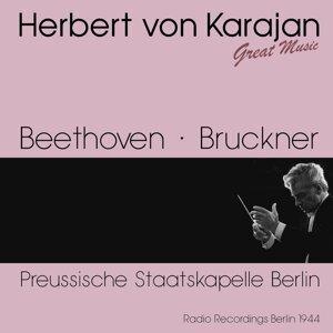 Preussische Staatskapelle Berlin, Herbert von Karajan Foto artis
