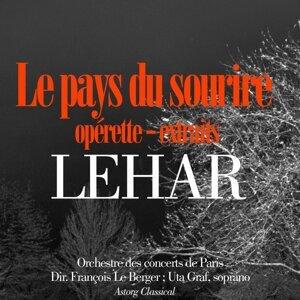 Orchestre des concerts de Paris, François le Berger, Uta Graf Foto artis