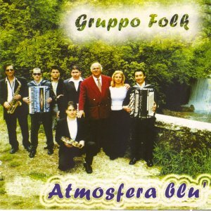 Gruppo folk Atmosfera blù Foto artis