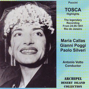 Maria Callas, Gianni Poggi, Paolo Silveri Foto artis