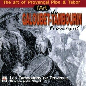 Les tambourins de Provence, Gabriel André Foto artis