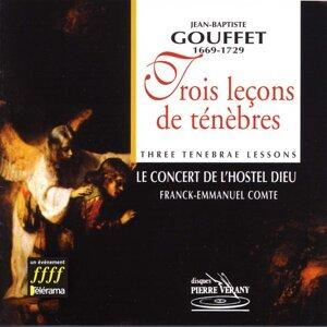 Le Concert de l'Hostel Dieu, Capella Gregoriale, François Jacquet, Franck-Emmanuel Comte Foto artis