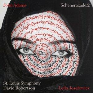 Leila Josefowicz, St. Louis Symphony, David Robertson Foto artis