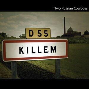 Two Russian Cowboys Foto artis