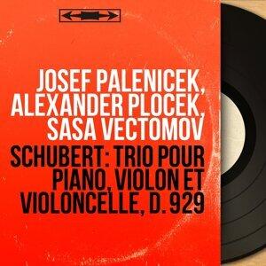 Josef Páleníček, Alexander Plocek, Sasa Vectomov Foto artis