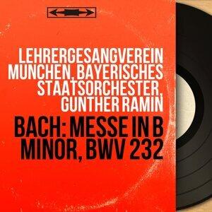 Lehrergesangverein München, Bayerisches Staatsorchester, Günther Ramin Foto artis