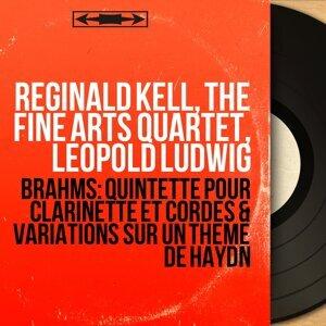 Reginald Kell, The Fine Arts Quartet, Leopold Ludwig Foto artis