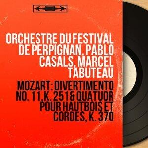 Orchestre du Festival de Perpignan, Pablo Casals, Marcel Tabuteau Foto artis