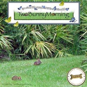 Two Bunny Morning Foto artis