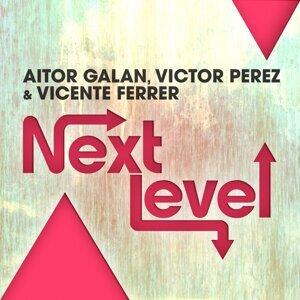 Aitor Galan, Victor Perez, Vicente Ferrer Foto artis
