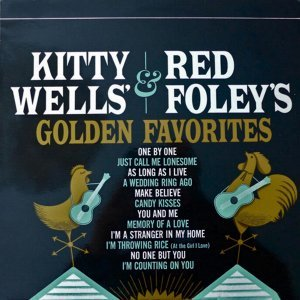 Kitty Wells, Red Foley Foto artis