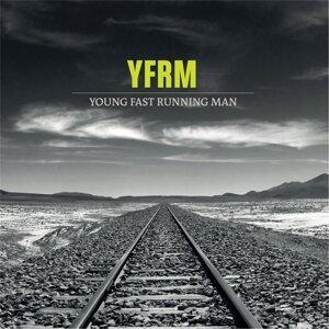 Young Fast Running Man Foto artis