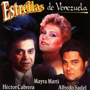 Héctor Cabrera, Mayra Martí, Alfredo Sadel Foto artis