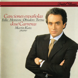 José Carreras, Martin Katz Foto artis