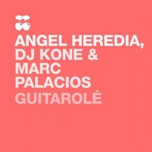 Dj Kone, Marc Palacios, Angel Heredia Foto artis