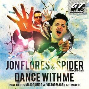Jon Flores, Spider Foto artis