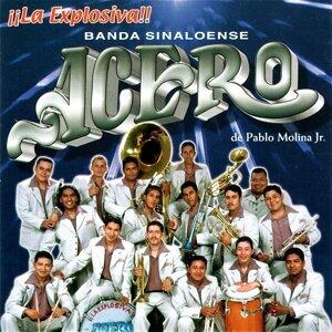 Banda Sinaloense de Acero De Pablo Molina Jr. Foto artis