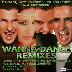 DJ Valdi, Kato Jiménez, Jesús Sánchez Foto artis