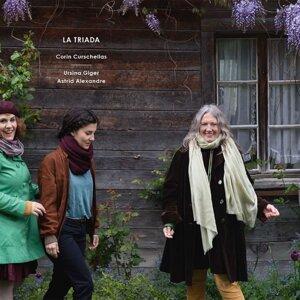 Corin Curschellas, Ursina Giger, Astrid Alexandre Foto artis