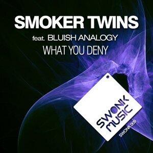 Smoker Twins, Bluish Analogy Foto artis