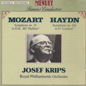 Josef Krips, Royal Philharmonic Orchestra Foto artis