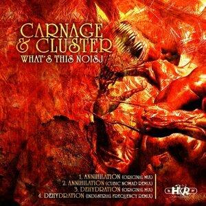 Carnage, Cluster Foto artis