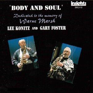 Lee Konitz, Gary Foster Foto artis