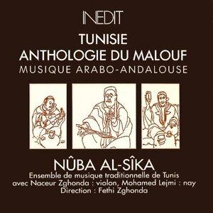 Ensemble de musique traditionnelle de Tunis, Naceur Zghonda, Mohamed Lejmi, Fethi Zghonda Foto artis