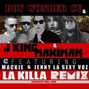 Boy Wonder Cf, J King, Maximan Foto artis