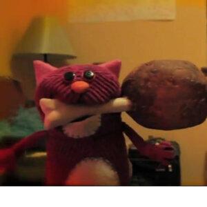 Corduroy Cat Foto artis