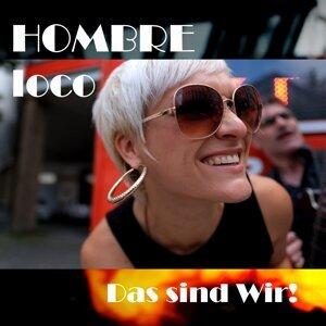 HOMBRE loco Foto artis