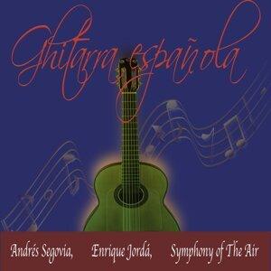Andrés Segovia, Enrique Jordá, Symphony of the Air Foto artis