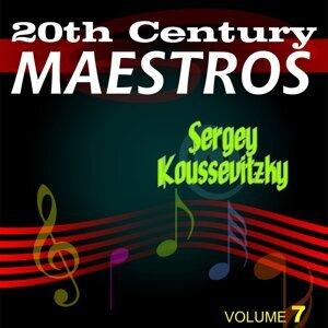 Boston Symphony Orchestra, Sergey Koussevitzky Foto artis