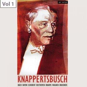 Wiener Philharmoniker, Berliner Philharmoniker, Hans Knappertsbusch, Wolfgang Scheiderhahn Foto artis