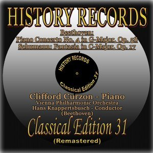 Clifford Curzon, Hans Knappertsbusch, Vienna Philharmonic Orchestra Foto artis