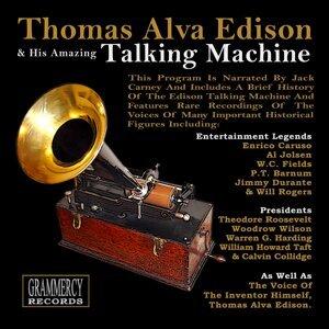 Thomas Alva Edison, P.T. Barnum, Lillian Russell Foto artis