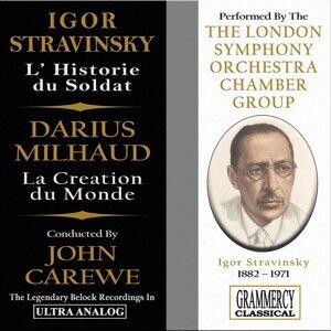 The London Symphony Orchestra Chamber Group, John Carewe Foto artis