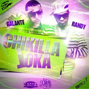 """Galante """"El Emperador"""", Randy """"Nota Loca"""" Foto artis"""