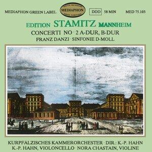 Kurpfalz Chamber Orchestra Ludwigshafen-Mannheim, Klaus-Peter Hahn, Nora Chastain & Klaus-Peter Hahn Foto artis