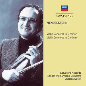 Salvatore Accardo, London Philharmonic Orchestra, Charles Dutoit Foto artis