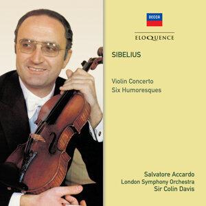 Salvatore Accardo, London Symphony Orchestra, Sir Colin Davis Foto artis