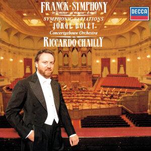 Riccardo Chailly, Jorge Bolet, Royal Concertgebouw Orchestra Foto artis